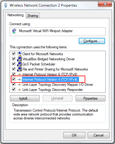 dns server address could not be found windows 7