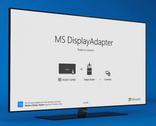 Image result for microsoft wireless adapter screen