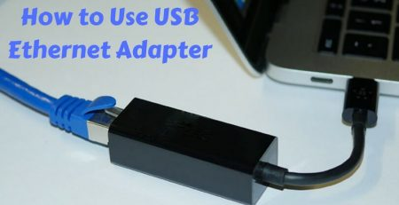 How to use USB Ethernet adapter