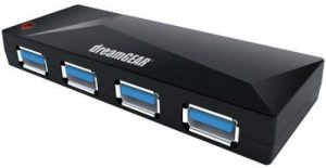dreamGEAR Universal 4-Port USB 3.0 Hub for Xbox