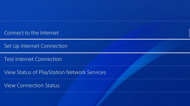 Connecting PS4 to a wired connection